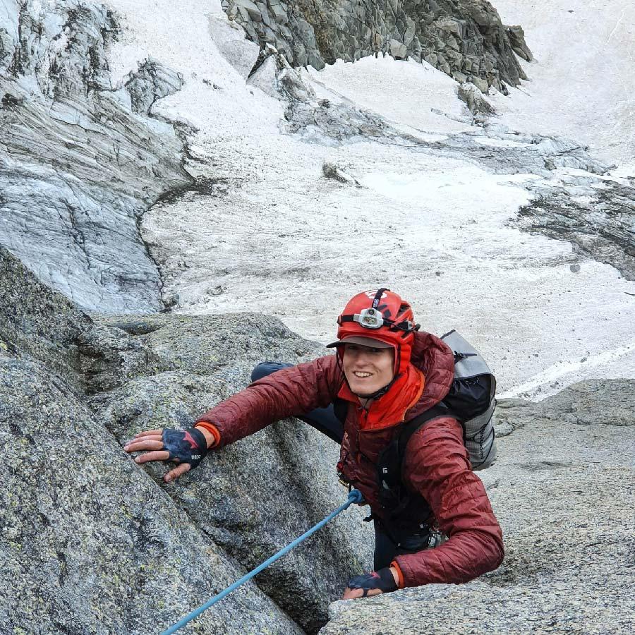 Joe Heeley big mountain action