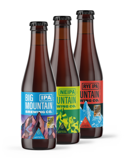 IPAs pack big mountain beer